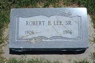 LEE, ROBERT E, SR - Grant County, Kansas | ROBERT E, SR LEE - Kansas Gravestone Photos