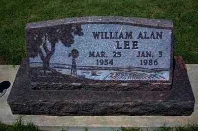 LEE, WILLIAM ALAN - Grant County, Kansas | WILLIAM ALAN LEE - Kansas Gravestone Photos