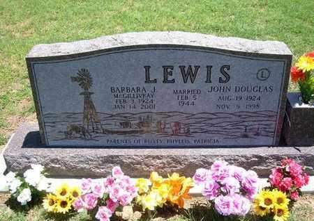 MCGILLIVRAY LEWIS, BARBARA J - Grant County, Kansas   BARBARA J MCGILLIVRAY LEWIS - Kansas Gravestone Photos