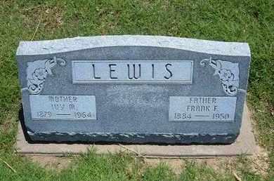 ROWE LEWIS, IVY MURIEL - Grant County, Kansas   IVY MURIEL ROWE LEWIS - Kansas Gravestone Photos