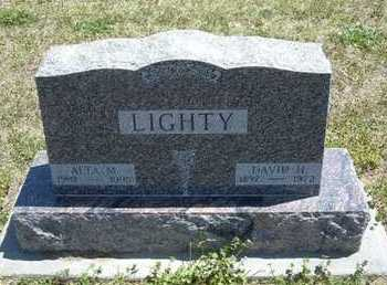 LIGHTY, ALTA MAE - Grant County, Kansas | ALTA MAE LIGHTY - Kansas Gravestone Photos