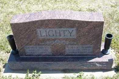 ALEXANDER LIGHTY, FANNY MARIE - Grant County, Kansas | FANNY MARIE ALEXANDER LIGHTY - Kansas Gravestone Photos