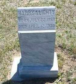 LIGHTY, HARRY A - Grant County, Kansas | HARRY A LIGHTY - Kansas Gravestone Photos