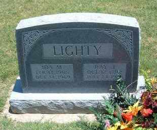 DUNSWORTH LIGHTY, IDA MILDRED - Grant County, Kansas | IDA MILDRED DUNSWORTH LIGHTY - Kansas Gravestone Photos