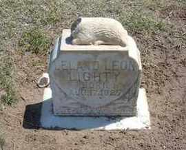 LIGHTY, LELAND LEON - Grant County, Kansas   LELAND LEON LIGHTY - Kansas Gravestone Photos
