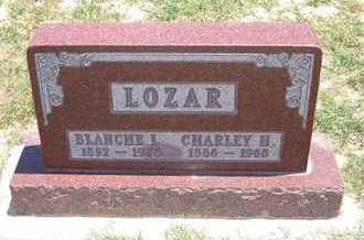 LOZAR, BLANCHE LILLIAN - Grant County, Kansas | BLANCHE LILLIAN LOZAR - Kansas Gravestone Photos