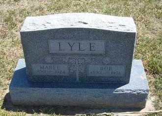 "LYLE, JOSEPH ROBERT ""BOB"" - Grant County, Kansas | JOSEPH ROBERT ""BOB"" LYLE - Kansas Gravestone Photos"