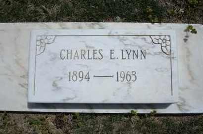 LYNN, CHARLES E - Grant County, Kansas | CHARLES E LYNN - Kansas Gravestone Photos