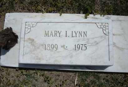 LYNN, MARY I - Grant County, Kansas | MARY I LYNN - Kansas Gravestone Photos