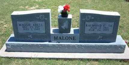 MALONE, MAGGIE ADELL - Grant County, Kansas   MAGGIE ADELL MALONE - Kansas Gravestone Photos
