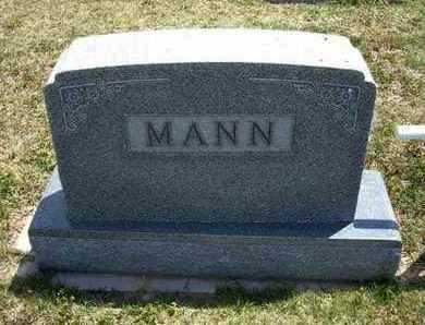MANN FAMILY GRAVESTONE,  - Grant County, Kansas |  MANN FAMILY GRAVESTONE - Kansas Gravestone Photos