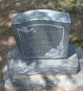 MANZANO, LEE JASON - Grant County, Kansas   LEE JASON MANZANO - Kansas Gravestone Photos