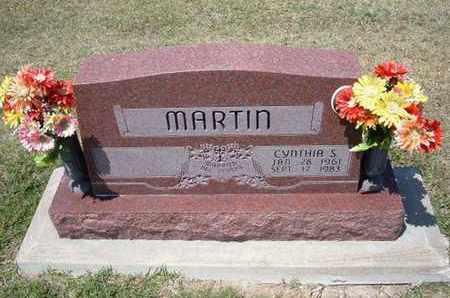 MARTIN, CYNTHIA S - Grant County, Kansas | CYNTHIA S MARTIN - Kansas Gravestone Photos