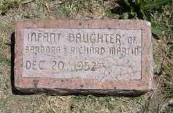 MARTIN, INFANT DAUGHTER - Grant County, Kansas | INFANT DAUGHTER MARTIN - Kansas Gravestone Photos