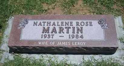 MARTIN, NATHALENE ROSE - Grant County, Kansas | NATHALENE ROSE MARTIN - Kansas Gravestone Photos