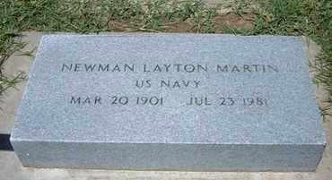 MARTIN, NEWMAN LAYTON   (VETERAN) - Grant County, Kansas | NEWMAN LAYTON   (VETERAN) MARTIN - Kansas Gravestone Photos