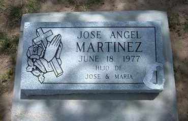 MARTINEZ, JOSE ANGEL - Grant County, Kansas | JOSE ANGEL MARTINEZ - Kansas Gravestone Photos