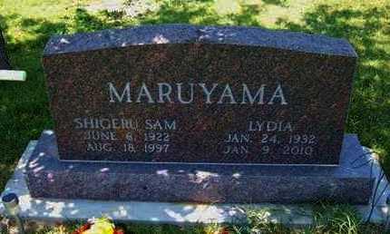 TAYLOR MARUYAMA, LYDIA MAE - Grant County, Kansas   LYDIA MAE TAYLOR MARUYAMA - Kansas Gravestone Photos