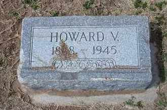 MAXWELL, HOWARD V - Grant County, Kansas | HOWARD V MAXWELL - Kansas Gravestone Photos
