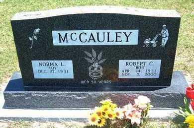 "MCCAULEY, ROBERT C ""BOB"" - Grant County, Kansas | ROBERT C ""BOB"" MCCAULEY - Kansas Gravestone Photos"