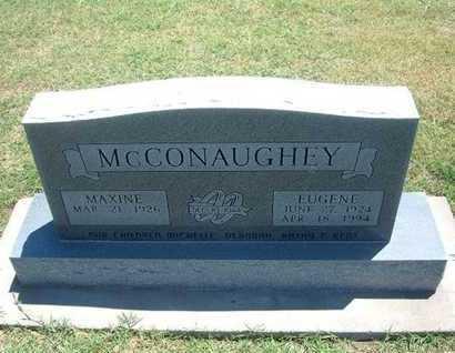 MCCONAUGHEY, EUGENE - Grant County, Kansas | EUGENE MCCONAUGHEY - Kansas Gravestone Photos