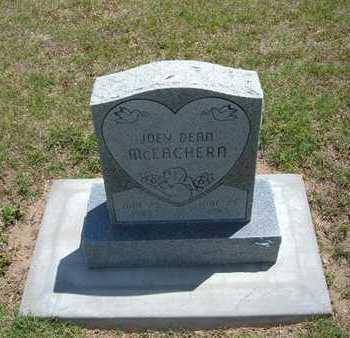 MCEACHERN, JOEY DEAN - Grant County, Kansas | JOEY DEAN MCEACHERN - Kansas Gravestone Photos
