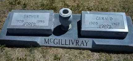 WITHROW MCGILLIVRAY, ESTHER ELMA - Grant County, Kansas | ESTHER ELMA WITHROW MCGILLIVRAY - Kansas Gravestone Photos