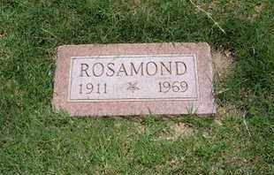 MCGILLIVRAY, ROSAMOND - Grant County, Kansas | ROSAMOND MCGILLIVRAY - Kansas Gravestone Photos