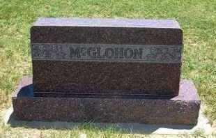 MCGLOHON FAMILY GRAVESTONE,  - Grant County, Kansas    MCGLOHON FAMILY GRAVESTONE - Kansas Gravestone Photos