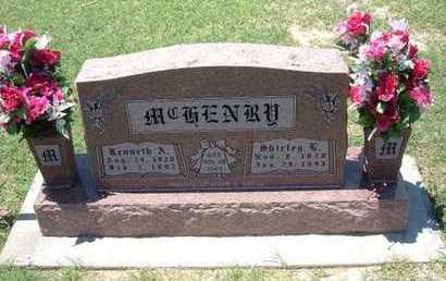MCHENRY, KENNETH A - Grant County, Kansas | KENNETH A MCHENRY - Kansas Gravestone Photos