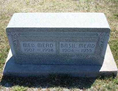 HOOD MEAD, DAISY MED - Grant County, Kansas   DAISY MED HOOD MEAD - Kansas Gravestone Photos