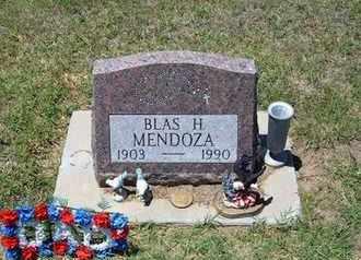 MENDOZA, BLAS H - Grant County, Kansas | BLAS H MENDOZA - Kansas Gravestone Photos