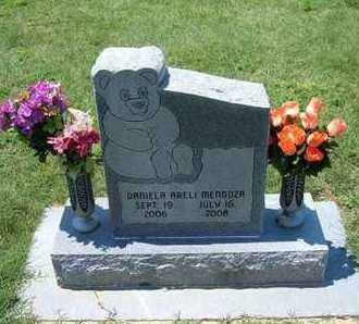 MENDOZA, DANIELA ARELI - Grant County, Kansas   DANIELA ARELI MENDOZA - Kansas Gravestone Photos