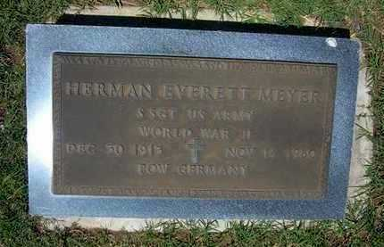 MEYER, HERMAN EVERETT   (VETERAN WWI, POW) - Grant County, Kansas | HERMAN EVERETT   (VETERAN WWI, POW) MEYER - Kansas Gravestone Photos