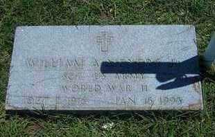 MEYERS, WILLIAM A, JR   (VETERAN WWII). - Grant County, Kansas | WILLIAM A, JR   (VETERAN WWII). MEYERS - Kansas Gravestone Photos