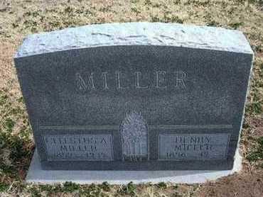 MILLER, CELESTUSA A - Grant County, Kansas   CELESTUSA A MILLER - Kansas Gravestone Photos
