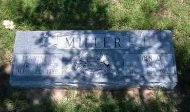 MILLER, JEANINE O - Grant County, Kansas | JEANINE O MILLER - Kansas Gravestone Photos