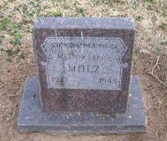 MOLZ, MELVIN LEROY - Grant County, Kansas | MELVIN LEROY MOLZ - Kansas Gravestone Photos
