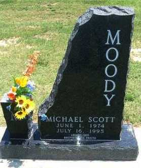 MOODY, MICHAEL SCOTT - Grant County, Kansas | MICHAEL SCOTT MOODY - Kansas Gravestone Photos