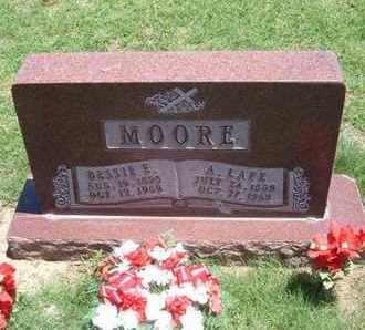 MOORE, BESSIE ELEANOR - Grant County, Kansas | BESSIE ELEANOR MOORE - Kansas Gravestone Photos