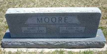 MOORE, EARL H - Grant County, Kansas   EARL H MOORE - Kansas Gravestone Photos