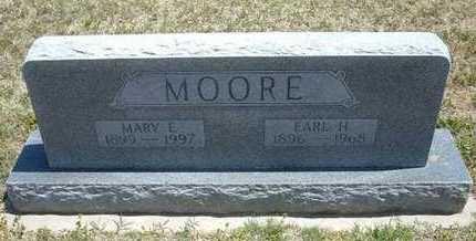 MOORE, MARY E - Grant County, Kansas | MARY E MOORE - Kansas Gravestone Photos