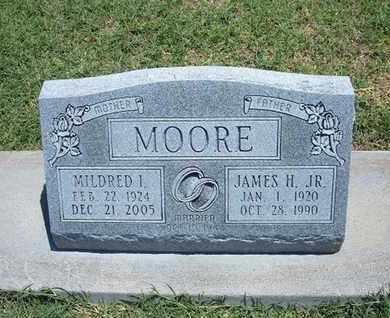 MOORE, MILDRED I - Grant County, Kansas   MILDRED I MOORE - Kansas Gravestone Photos