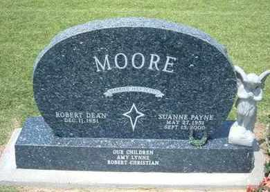MOORE, SUANNE - Grant County, Kansas | SUANNE MOORE - Kansas Gravestone Photos
