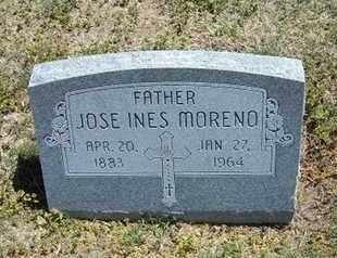 MORENO, JOSE INES - Grant County, Kansas | JOSE INES MORENO - Kansas Gravestone Photos