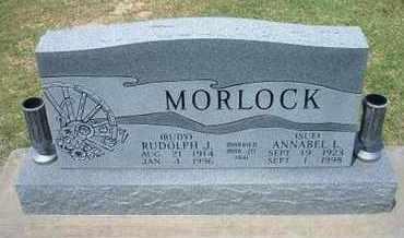HEWITT MORLOCK, ANNABEL L - Grant County, Kansas | ANNABEL L HEWITT MORLOCK - Kansas Gravestone Photos