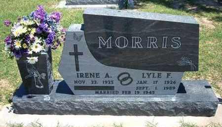 MORRIS, LYLE F - Grant County, Kansas | LYLE F MORRIS - Kansas Gravestone Photos