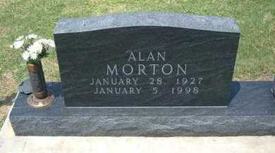 MORTON, ALAN - Grant County, Kansas   ALAN MORTON - Kansas Gravestone Photos