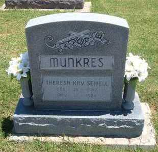 MUNKRES, THERESA KAY - Grant County, Kansas | THERESA KAY MUNKRES - Kansas Gravestone Photos