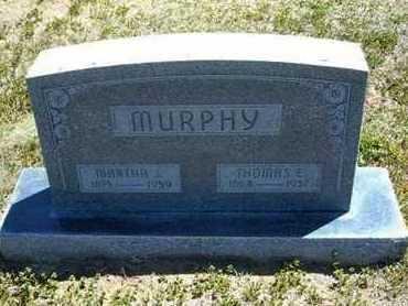 MURPHY, MARTHA J - Grant County, Kansas | MARTHA J MURPHY - Kansas Gravestone Photos